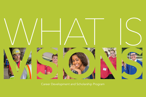 VISIONS Career Development and Scholarship Program