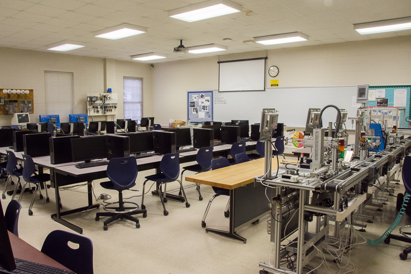 Industrial Automation Classroom & Laboratory