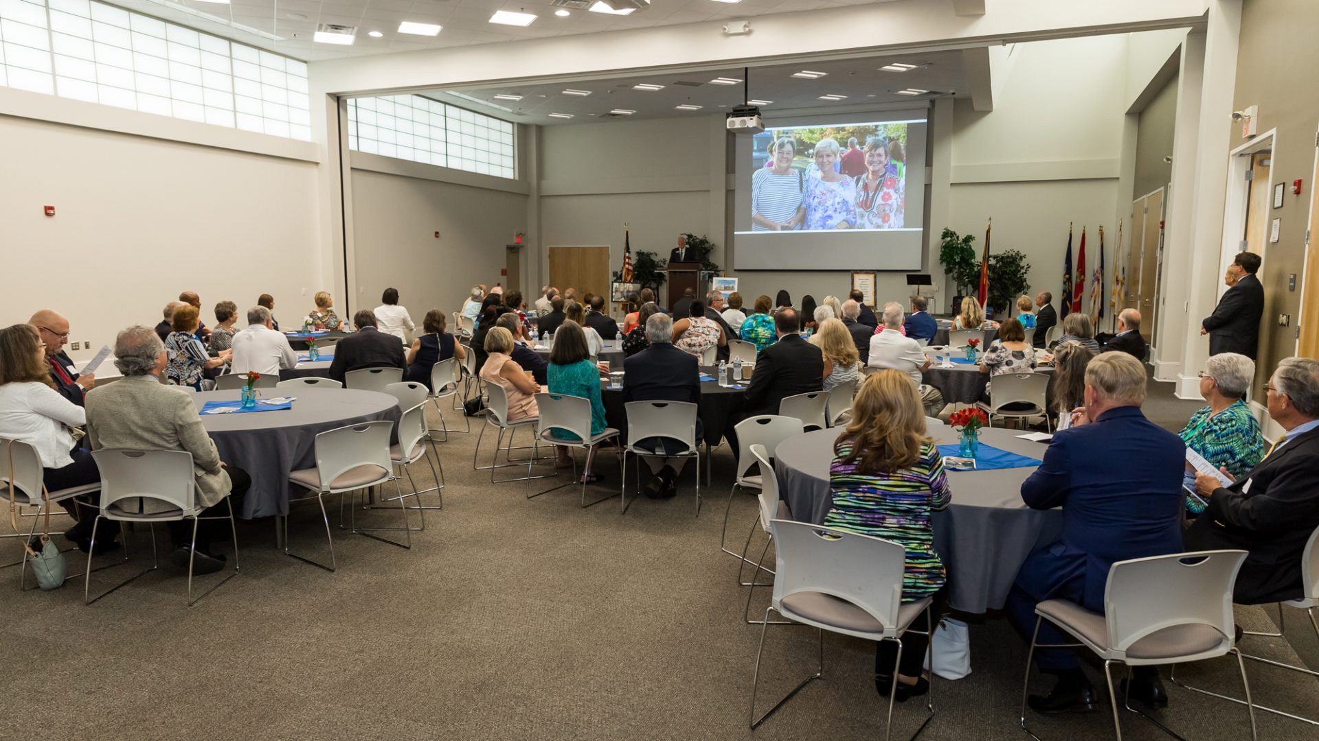 The 2018 PCC Foundation Distinguished Donor Reception took place in the Craig F. Goess Student Center's Davenport Multipurpose Room.