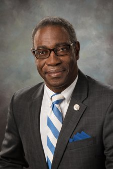 Portrait of PCC President Lawrence Rouse