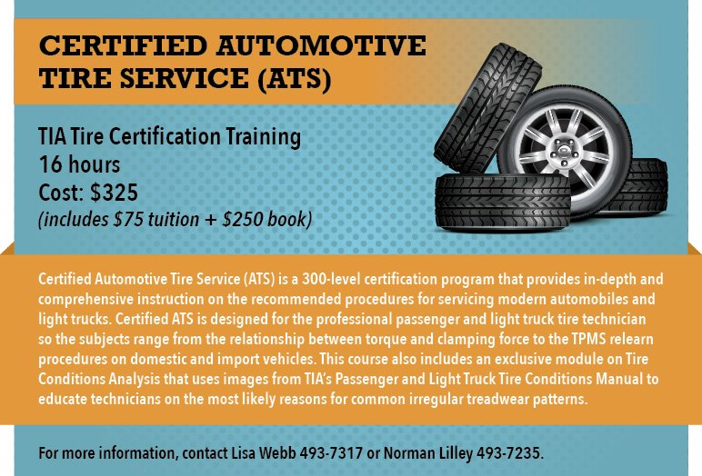 tire certification