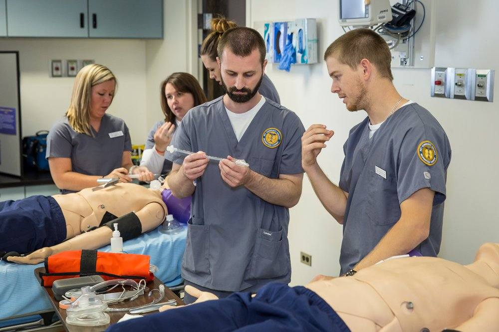 Each fall, PCC Respiratory Therapy students hold an open house on campus to showcase their program's facilities, equipment and training.