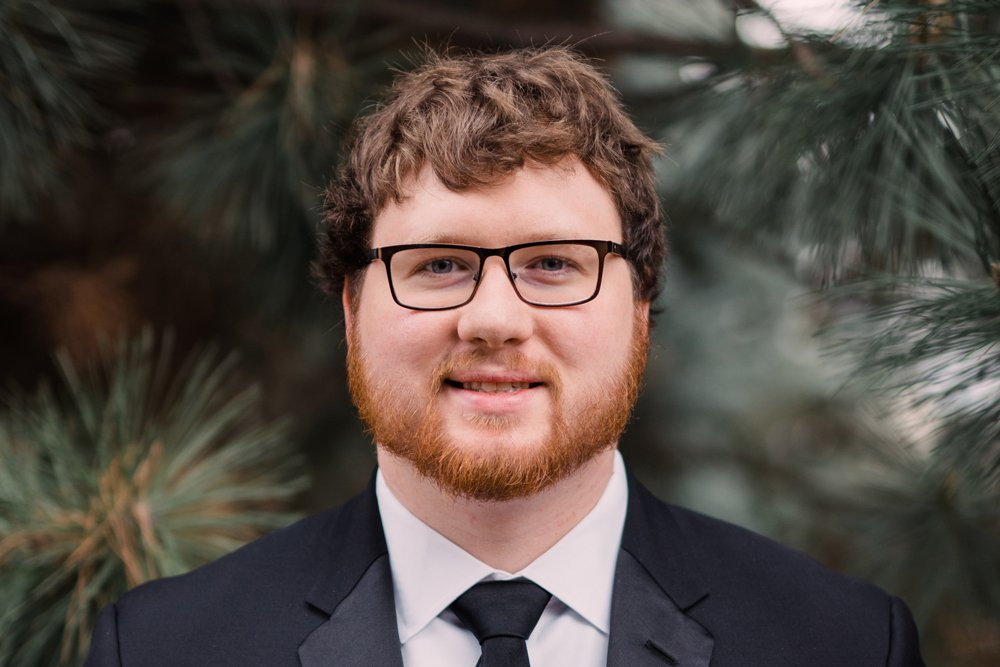 Spencer Crawford, a PCC and ECU graduate, says he intends to find work as a planner and eventually pursue a master's degree and Ph.D.