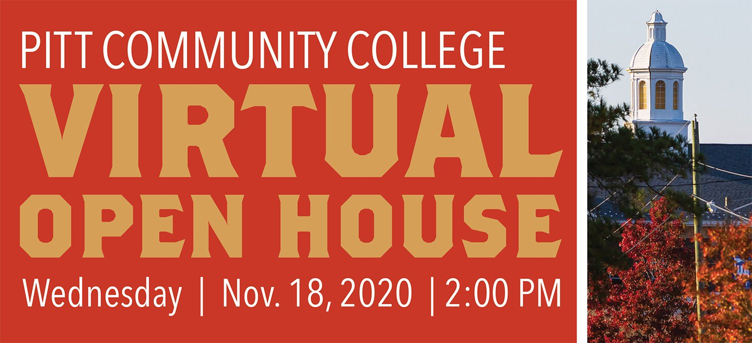 Virtual Open House, Wednesday, November 18, 2020 at 2:00 pm