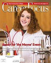 Cover of 2021 Career Focus Magazine
