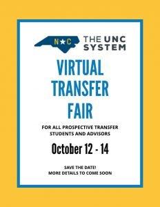 Virtual Transfer Fair taking place October 12-14